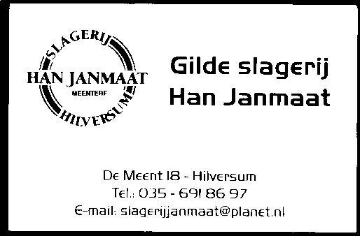 Slagerij Janmaat
