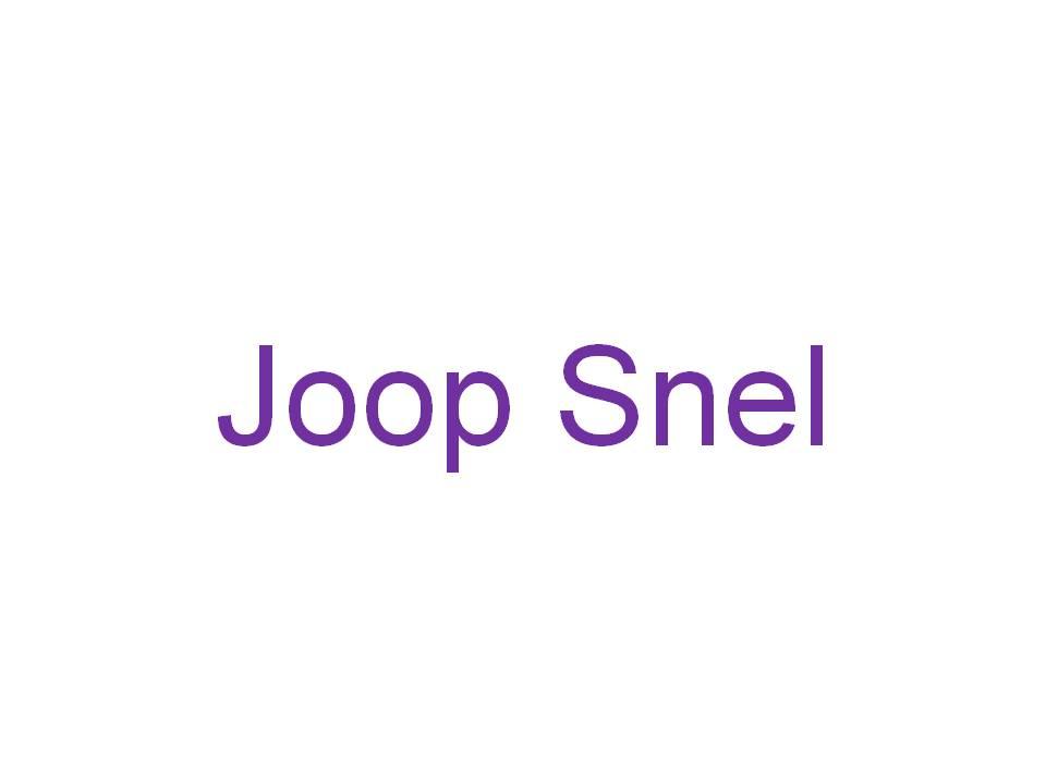 Joop Snel