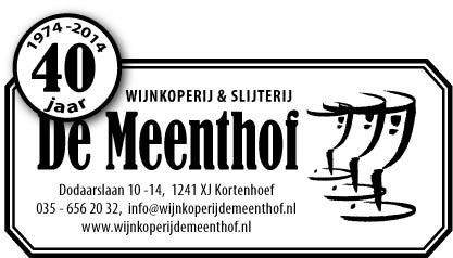 """Wijnkoperij en Slijterij """"De Meenthof"""""""