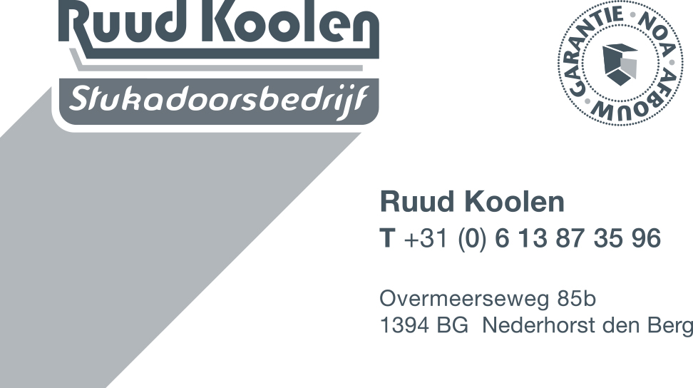 Ruud Koolen stucadoor