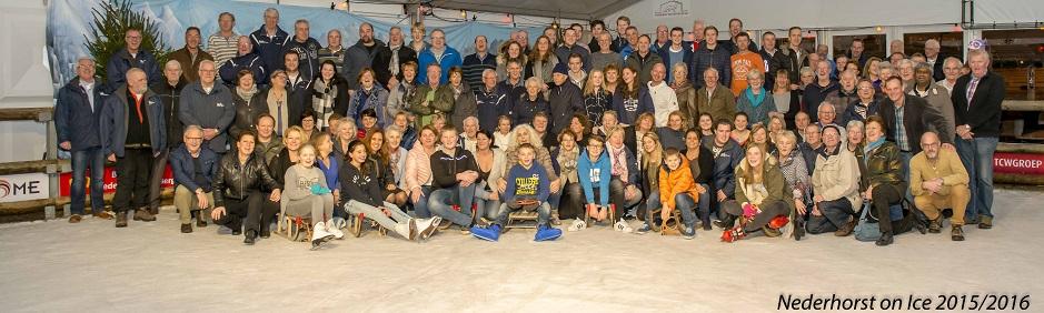 Vrijwilligers van Nederhorst on Ice 2015