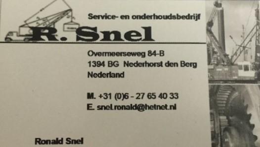 S.O.B Ronald Snel