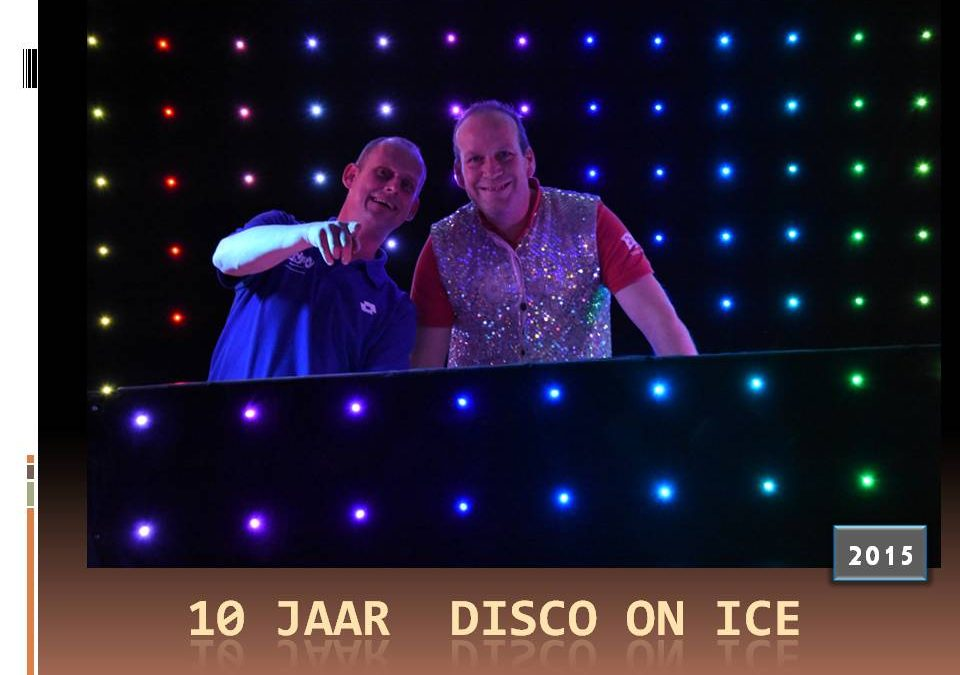 Enjoy Entertainment voor het laatst met hùn Disco on Ice
